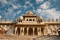 Jaswant thada white temple Royalty Free Stock Images