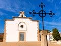 Javea ermita del calvario at xabia alicante in spain calvari Stock Photography