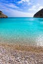 Javea la granadella beach in xabia alicante spain mediterranean Royalty Free Stock Image