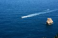 Javea sea mediterranean and rocks Royalty Free Stock Photos