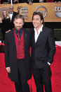 Javier Bardem, Viggo Mortensen Royalty Free Stock Photo