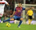 Javier Mascherano of FC Barcelona Stock Image