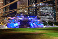Jay pritzker pavilion chicago october an outdoor amphitheater on october in millennium park chicago illinois designed by frank o Stock Photos