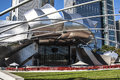 Jay pritzker pavillion in millennium park chicago Stock Images