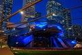 Jay Pritzker Pavilion at Night, Millennium Park, Chicago Royalty Free Stock Photo