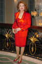 Jayne meadows at the beverly hills theatre guilds th annual dinner honoring carol channing with their spotlight award beverly Royalty Free Stock Images