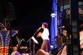 Jazz singer Royalty Free Stock Images