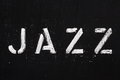 JAZZ Royalty Free Stock Photo