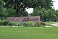 Jc penney corporate headquarters in plano texas sign front of the Royalty Free Stock Photography