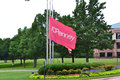 Jc penney corporate offices plano texas flags in front of the jcpenney headquarters in Stock Images