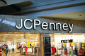 Jc penny department store storefront inside the mall Royalty Free Stock Photo