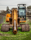 JCB Digger Royalty Free Stock Photos