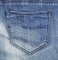 Jean pocket Royalty Free Stock Photography