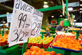 Jean talon market montreal canada sep interior on september in montreal canada montreal is the largest in quebec the second Royalty Free Stock Photography