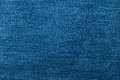 Jean texture blue close up Royalty Free Stock Photography