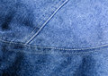 Jean white thread close up blue color tone and detail pattern surface Stock Photography