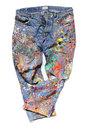Jeans of an Artist Royalty Free Stock Photo