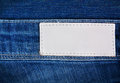 Jeans background inset your design Royalty Free Stock Photos