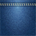 Jeans background vector texture fabric textile design Royalty Free Stock Images