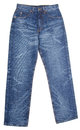 Jeans. Blue Jeans on a background Royalty Free Stock Photo