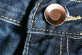 Jeans and button Royalty Free Stock Photo