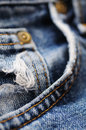 Jeans detail Stock Photos