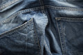 Jeans pant close up fabric texture Stock Photo