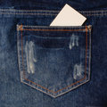 Jeans pocke Stock Images
