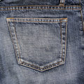 Jeans Pocket Stock Image