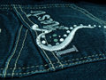 Jeans Pocket Royalty Free Stock Photo