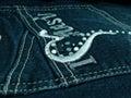 Jeans Pocket Royalty Free Stock Photo