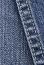 Jeans Seam Stock Photography
