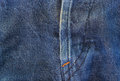 Jeans texture with seams thailand Royalty Free Stock Photography