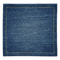 Jeans texture worn blue denim background Stock Photo