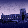 Jedburgh Abbey ruins Royalty Free Stock Images