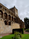 Jedburgh abbey - tourists attraction Royalty Free Stock Photo