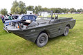 Jeep this ford gpa general purpose amphibian seep from seagoing built for world war from on it is baby version of the big brother Stock Photos