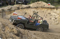 Jeep at the international gathering of military vehicles in borne sulinowo poland event is held every year area west pomerania it Stock Photos