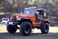 Jeep Offroad Truck Royalty Free Stock Photo