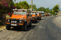 Jeep Safari Royalty Free Stock Photo