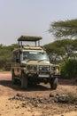 Jeep on Safari Royalty Free Stock Photo