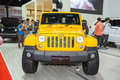 Jeep wrangler sahara car bangkok march on display at the th bangkok international motor show on march in bangkok thailand Royalty Free Stock Photo