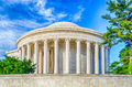 Jefferson memorial in washington dc the daylight Royalty Free Stock Photography