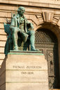 Jefferson statue Royalty Free Stock Photo