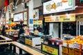 Seogwipo Maeil Olle Market, Korean old traditional market in Jeju Island, Korea