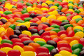 Jelly bean background Royalty Free Stock Photo