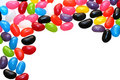 Jelly Bean Border Royalty Free Stock Images
