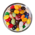 Jelly Beans Bowl Royalty Free Stock Photo