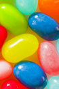 Jelly Beans Closeup (multicolored) Royalty Free Stock Photos