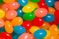 Jelly beans easter in many colors Royalty Free Stock Photography
